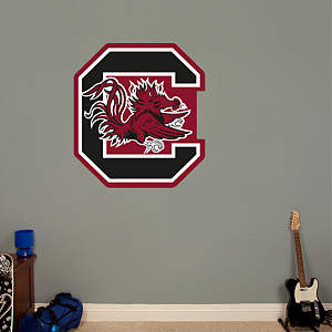 South Carolina Gamecocks Logo Fathead Wall Decal